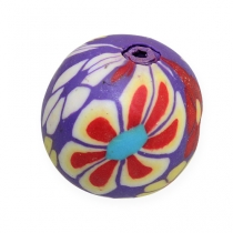 Perles décoratives multicolores 1,9 cm 60 p.