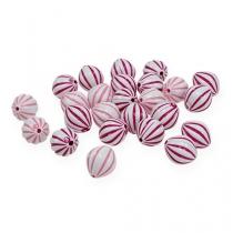 Mélange de perles bicolores Assorties Ø1,3cm 300P