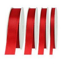 Ruban décoration rouge 50 m