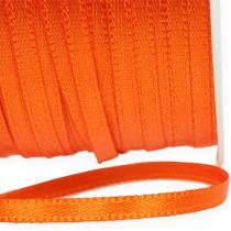 Ruban cadeau et décoration 3 mm x 50 m orange