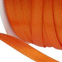 Ruban cadeau et décoration 6 mm x 50 m orange
