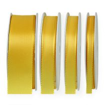 Ruban cadeau et décoration 50m jaune