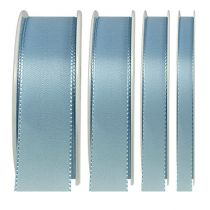 Ruban cadeau et décoration 50m bleu clair