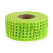 Ruban grillagé vert clair 4,5 cm x 10 m