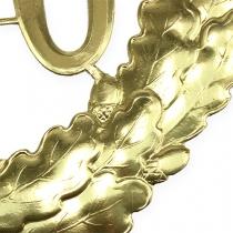 Numéro d'anniversaire doré 70 Ø 40 cm