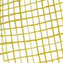 Ruban de jute jaune 5 cm 40 m