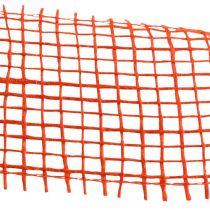 Ruban de jute orange 5cm 40m