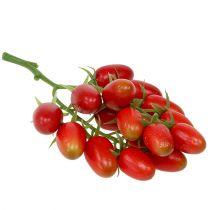 Tomates de vigne artificielles rouges sur la branche 22cm