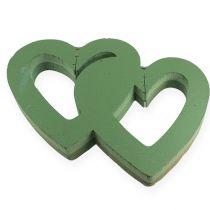 Mousse à piquer humide coeur double 38 cm ouvert