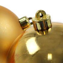 Boule de Noël or 10cm 4pcs