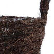 Petit panier en sarments, nature Ø 17 cm