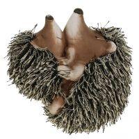 Figurine de hérisson avec son petit 11,5 cm 2 p.