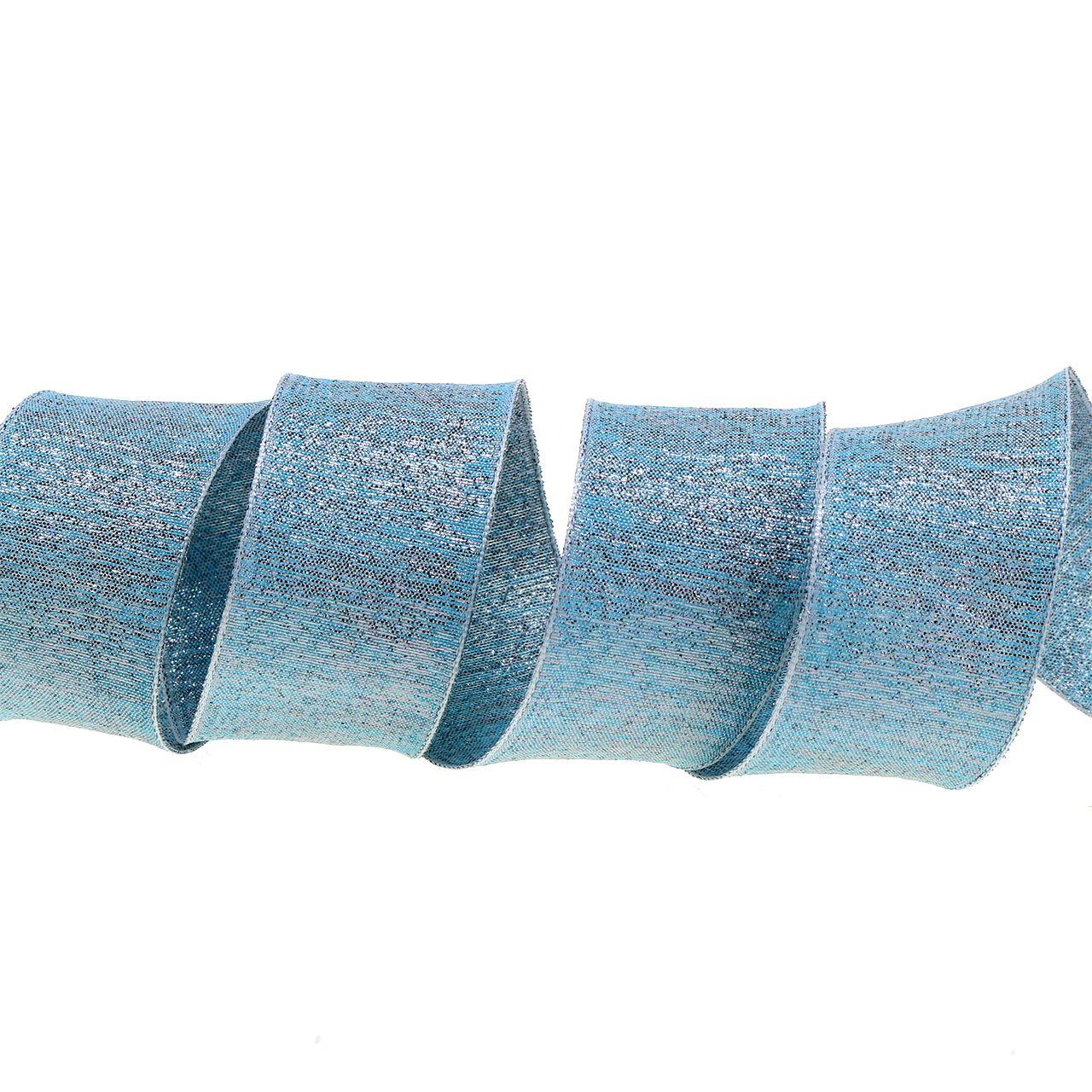 Ruban décoratif à paillettes 40 mm 20 m