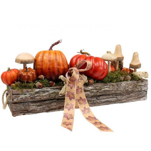 Champignons en bois à piquer 20 cm 6 p.