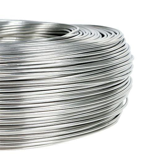 Fil d'aluminium 1,5 mm 1 kg argent