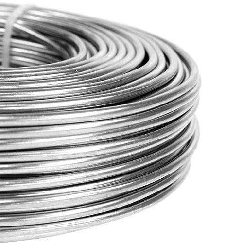 Fil d'aluminium 3mm 1kg argent