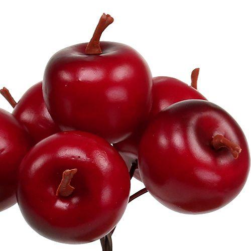 Pomme Ø3,5cm rouge 36pcs