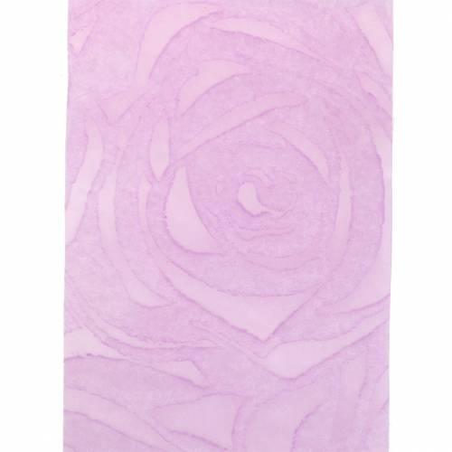 ruban décoratif Rosen Breit Violet 63mm 20m