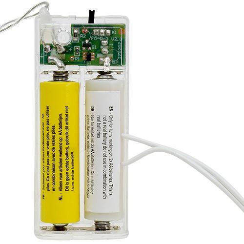 Adaptateur de batterie 3Volt 2 x AA 3m blanc