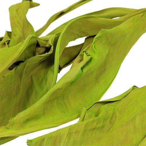 Feuilles décoratives vert pomme 120 cm 20 p.