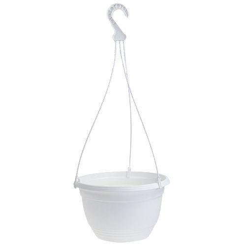 Corbeille à fleurs Ø30cm blanc