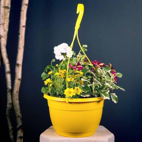 Panier à fleurs 25cm lilas
