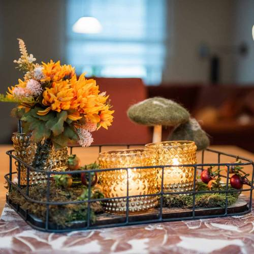 Bouquet de chrysanthèmes Mix Orange 35cm