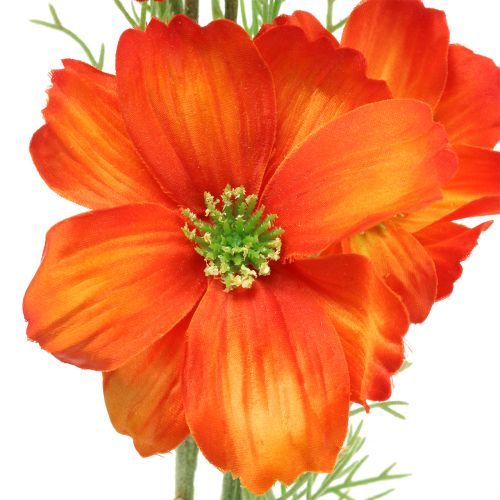 Cosmea orange artificielle 77cm 3pcs
