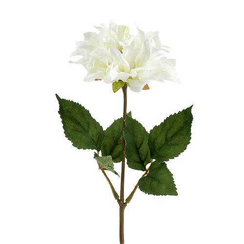 Dahlia blanc 28cm 4pcs
