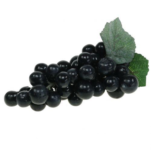 Raisins décoratifs noir 18cm
