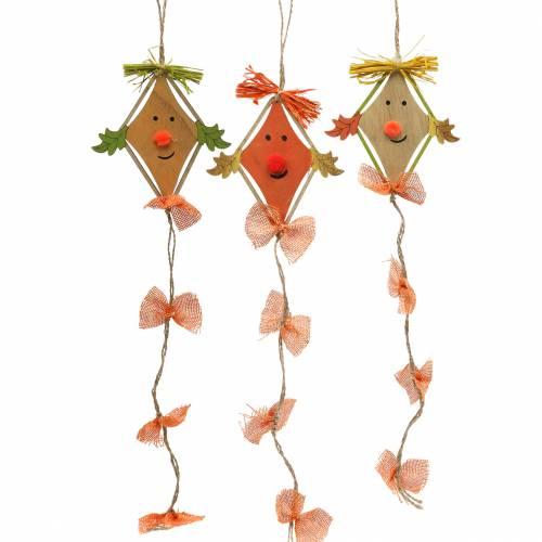 Dragon de décoration automne à suspendre 10,5cm x 11cm 6pcs
