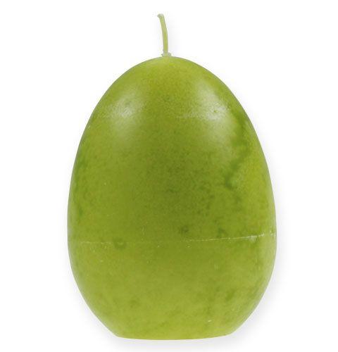 Bougie en forme d'un œuf 14cm Limon
