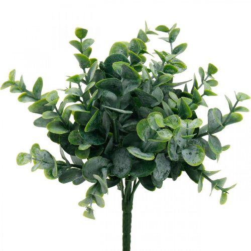 Décoration de mariage artificielle eucalyptus branches d'eucalyptus vert H26cm