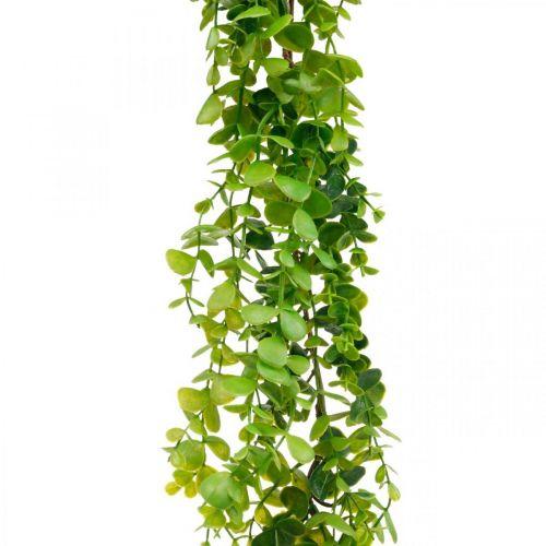 Décoration de mariage guirlande d'eucalyptus vert artificiel 122cm