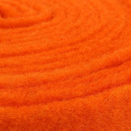 Bande de feutrine orange 7,5 cm 5 m