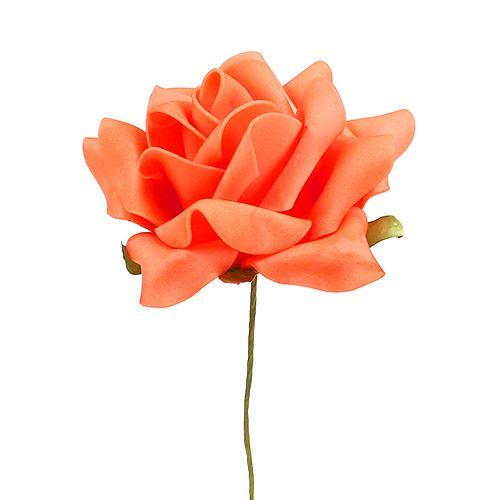 Mousse Rose Ø 10cm Orange 8pcs