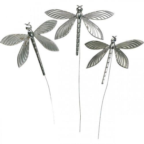 Décoration de printemps, prise de décoration libellule, décoration de mariage, été, libellule en métal 12pcs