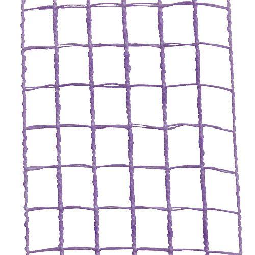 Ruban grillagé mauve 4,5 cm x 10 m