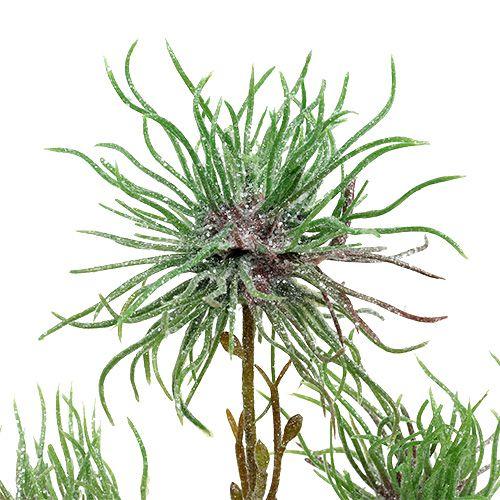 Branche d'hamamélis 44cm vert, argent 1pc