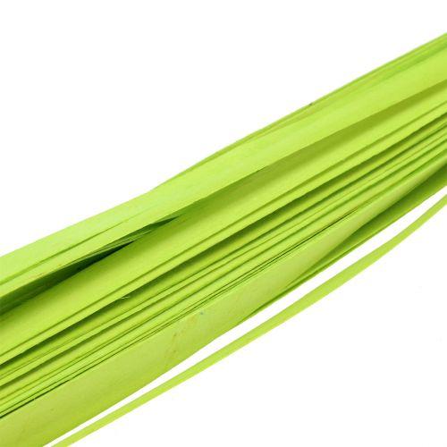 Sangles de bois vert printemps 95 - 100 cm 50 p.