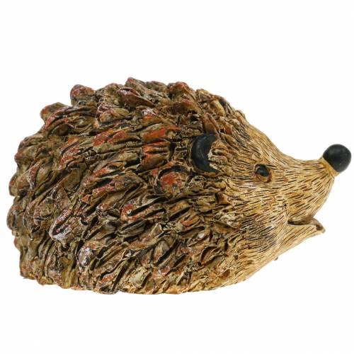 Figure de décoration hérisson nature 6,5cm