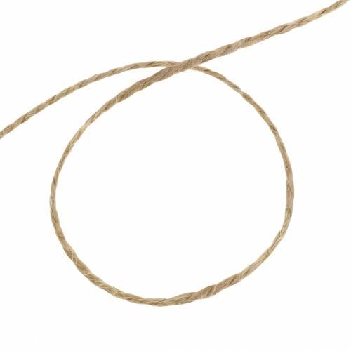 Corde de jute polyvalente naturelle 1mm 200m 1p