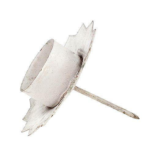 Bougeoir pour bougie chauffe-plat Ø9cm H9cm