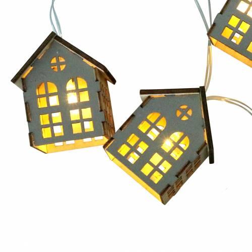 Les guirlandes lumineuses à LED fonctionnent à piles