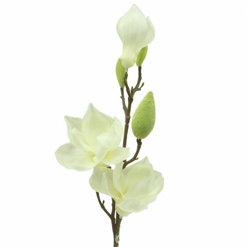 Magnolia Real Touch Blanc 70cm