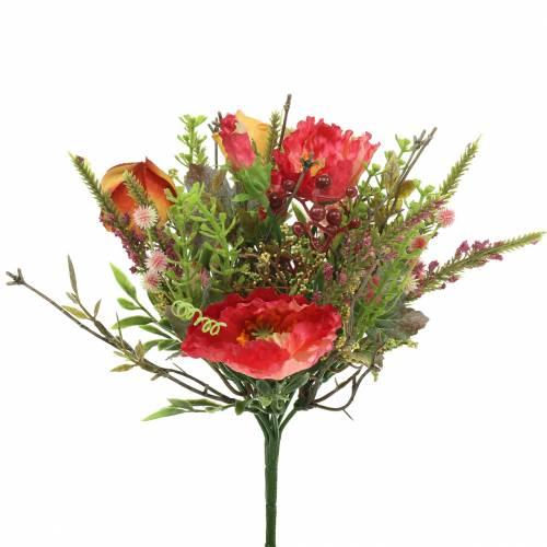 Bouquet de pavot d'automne 25cm