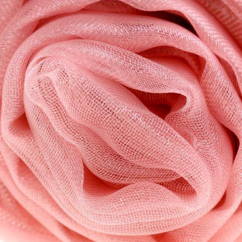 Tissu d'ameublement Organza rose antique 150cm x 300cm