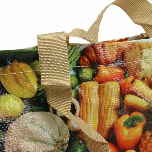 Sac shopping avec poignées Harmonie 35 × 18 × 39cm plastique