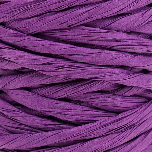 Cordon en papier renforcé 6 mm 23 m violet