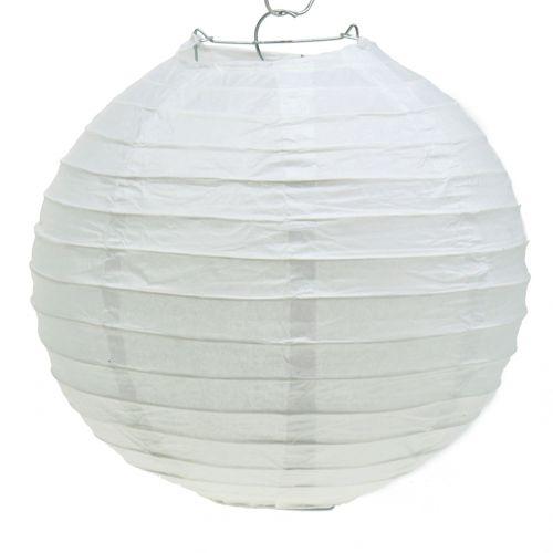 Lanterne en papier blanc Ø30cm